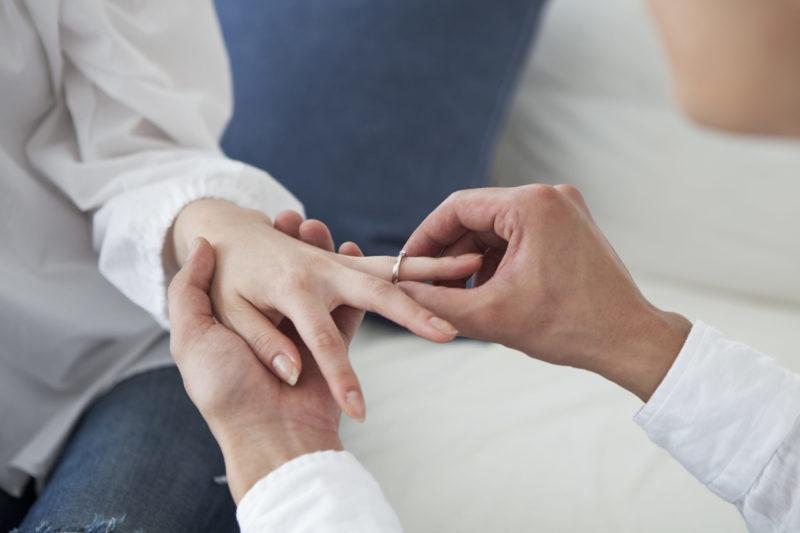 プリジュ 口コミ クリスマス 婚約指輪 指輪完成 プロポーズ