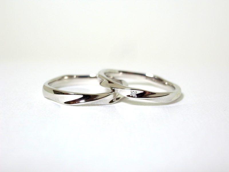 結婚指輪 オーダーリング プリジュ オリジナルリング マリッジリング ひねり
